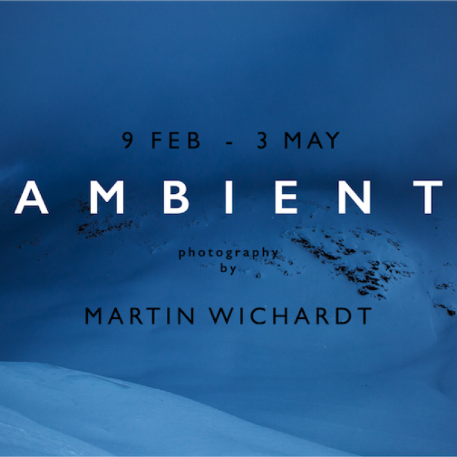 """Ambient. The word refers to surrounding conditions such as air, sound or light."" Photo exhibition AMBIENT by Martin Wichardt."