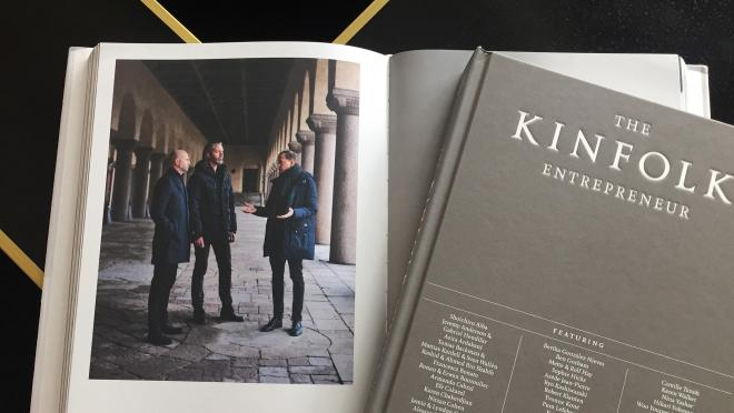 Kinfolk lists Fantastic Frank among 40 entrepreneurs inspiring their industry