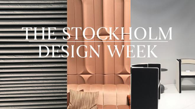 furniture week stockholm